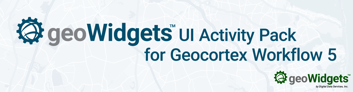 geoWidgets UI Activity Pack Released