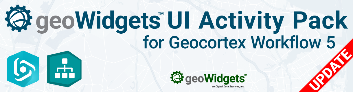 geoWidgets UI Activity Pack Update – 2019-02-21