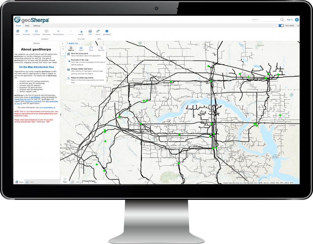 Geocortex Web GIS